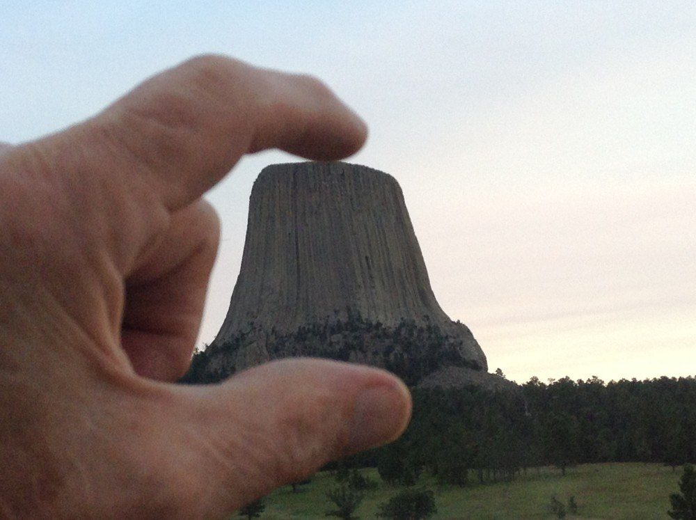 Devil's Tower in Hand